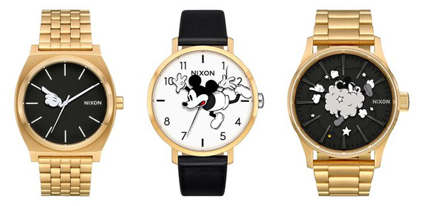 Mickey Mouse Nixon watch
