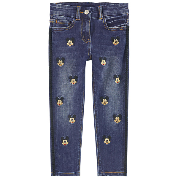 MONNALISA MONNALISA Girl skinny fit jeans with embroideries