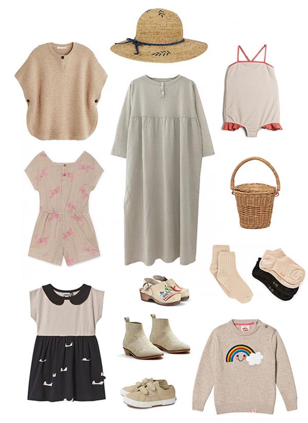 mode fille beige
