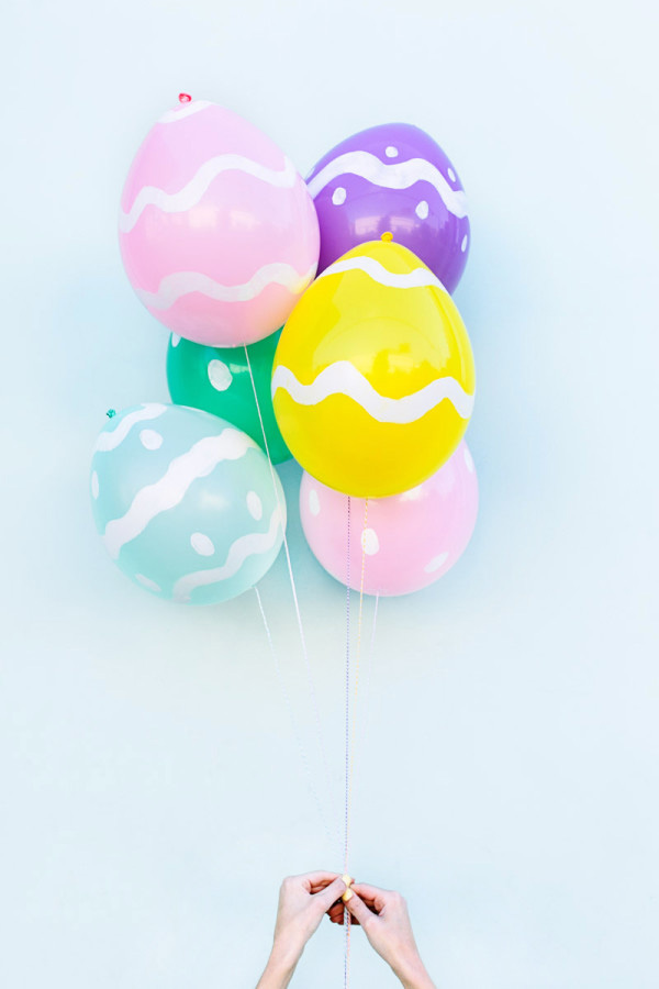 DIY de Pâques ballons