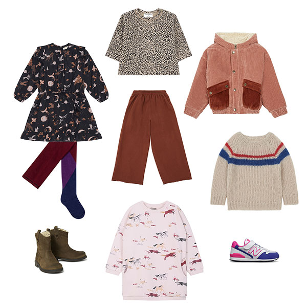Les vêtements pour l'école élémentaire