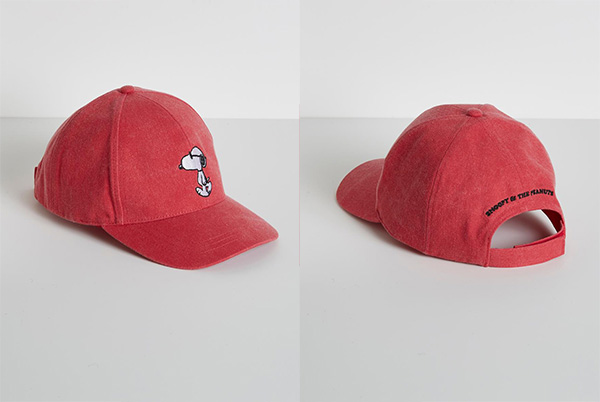 Cyrillus X Peanuts - Collection Snoopy casquette