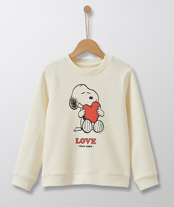 Cyrillus X Peanuts - Collection Snoopy Love Sweat