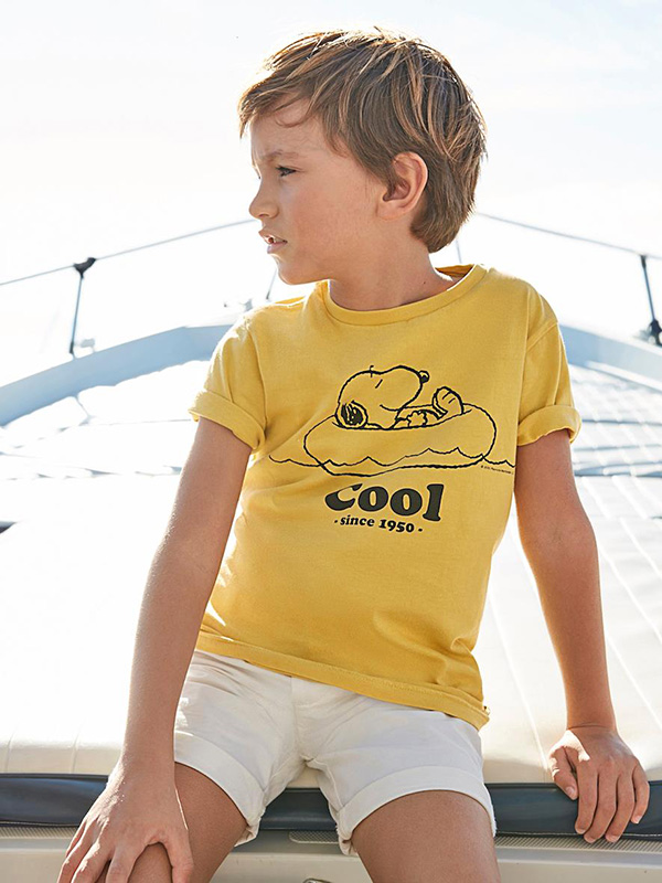 Cyrillus X Peanuts - Collection Snoopy Cool T-Shirt