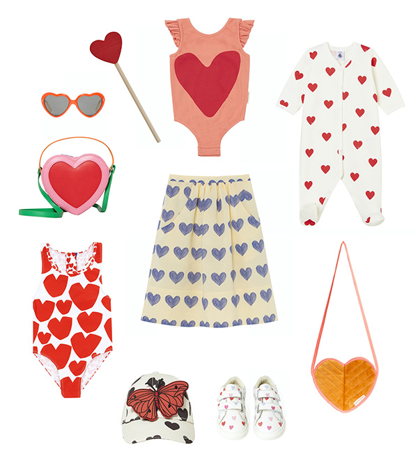 Mode Tendance coeur pour enfant