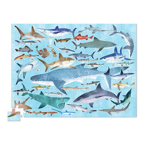 Crocodile Creek Shark Puzzle