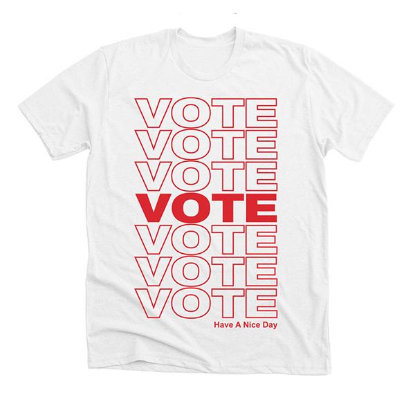 Eighteen x 18 Vote Tee