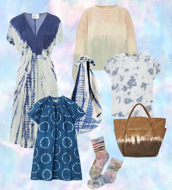 Tie and Dye women's fashion