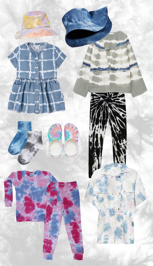 Tie and Dye girls fashion