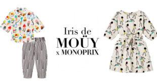 Monoprix x Iris de Mouy collab
