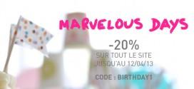 Happy 1 Marvelous !