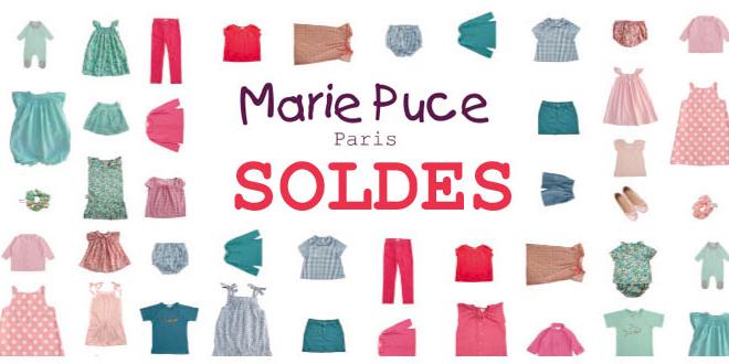 Marie Puce mode enfant Soldes