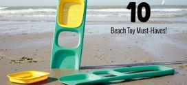 10 beach toys