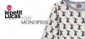 Le petit Lucas du Tertre x Monoprix Capsule Collection