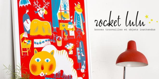 Rocket Lulu vintage enfant