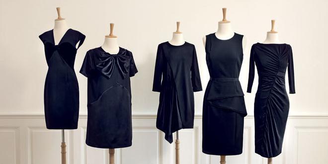 Monoprix Robe Noire
