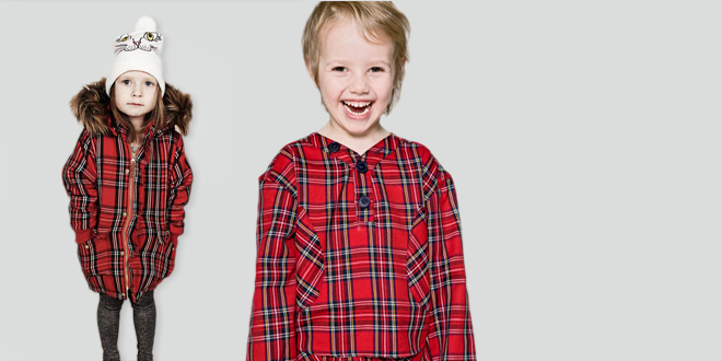 Kids Tartan & Plaid Fashion