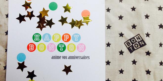 Happy Bonton animation fête