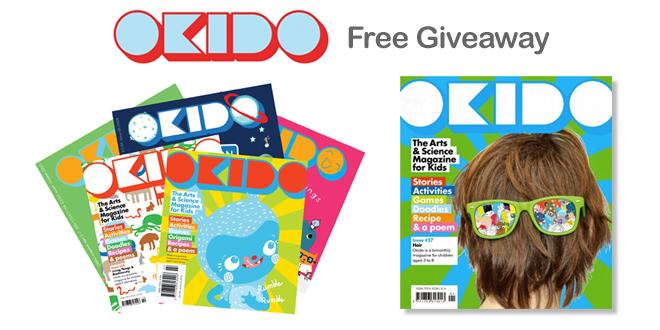 Okido Magazine Free Giveaway