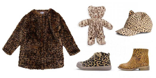 leopard kids fashion
