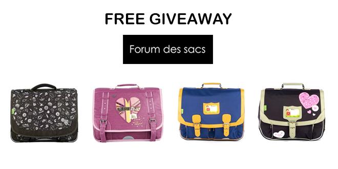 Forum-des-Sacs-free-giveaway