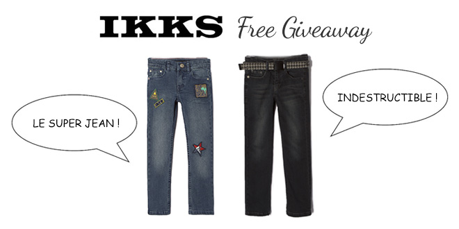 IKKS Free Giveaway Mode Enfant