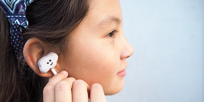 DIY Fimo Clay Earphones