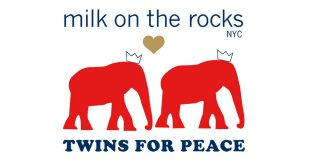 Twins for Peace x Milk on the Rocks chaussures