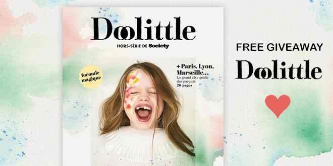 FREE Giveaway Doolittle Nouvelle Formule