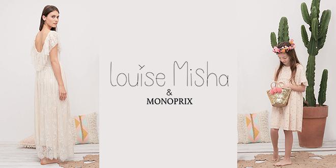 Louise Misha x Monoprix