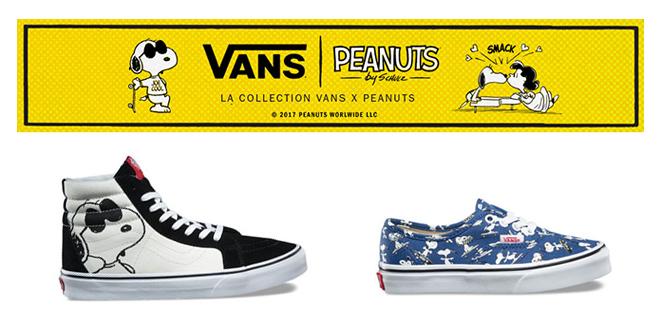 VANS x PEANUTS : We Love You Charlie Brown!