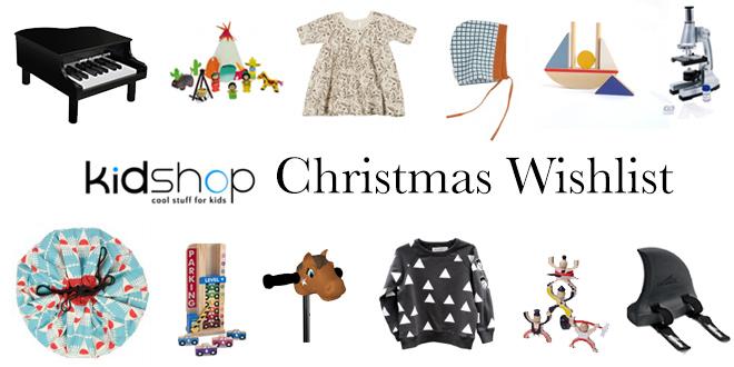 Kidshop Christmas Wishlist