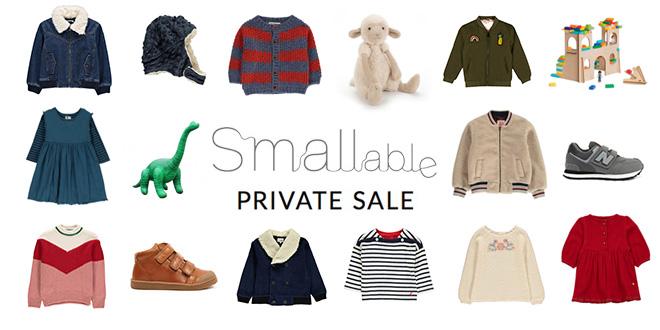 Smallable Private Sale