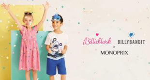 Billieblush et Billybandit pour Monoprix