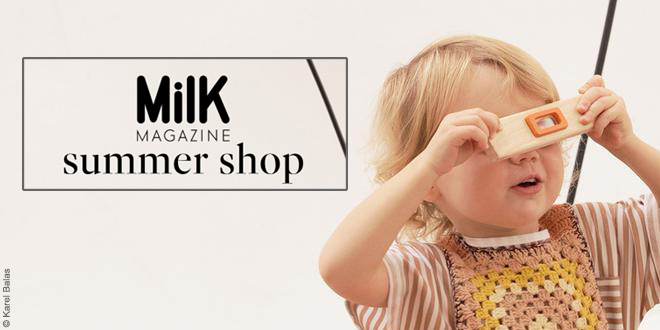 Milk magazine summer shop