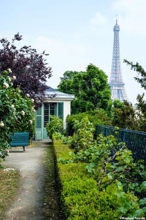 Jardin Balzac Raphael-Fournier