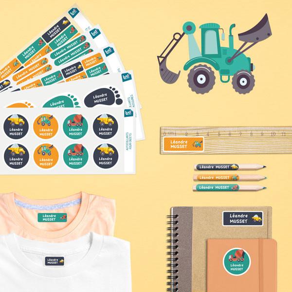 Ludilabel pack étiquettes école maternelle
