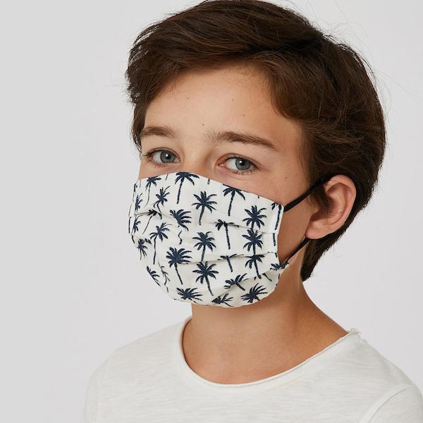 MONOPRIX Lot de 2 masques en tissu lavables enfants
