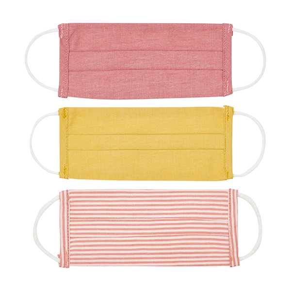 SMALLABLE Maskable 3 x Face Masks - Kid Size